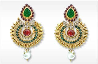 Fashion earrings-Imitation Jewellery Earrings