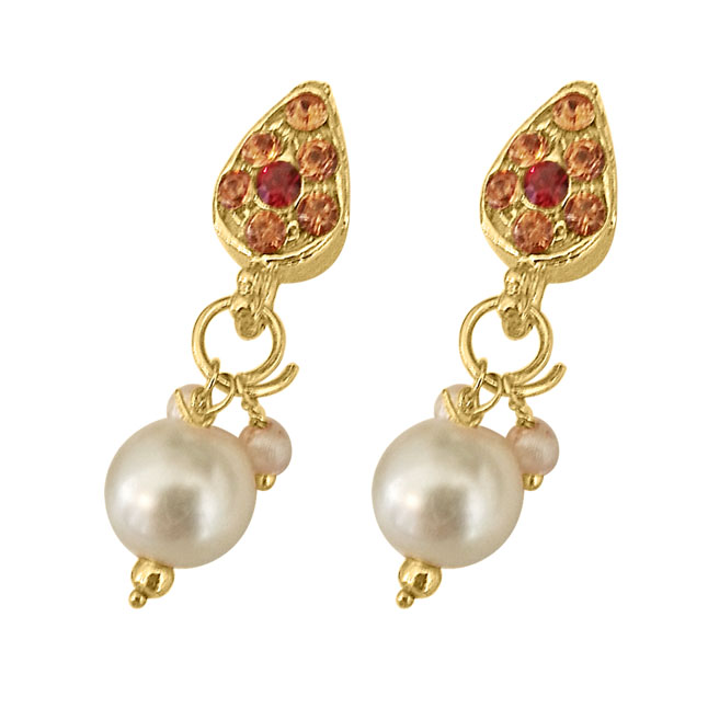 Traditional Coloured Stone & Shell Pearl Set