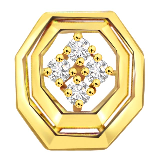 0.08 ct Jewels to Treasure Diamond Pendants -Designer Pendants