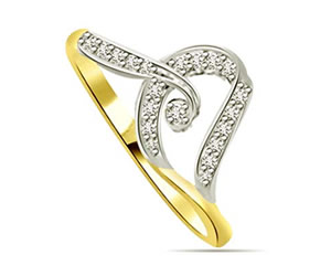 0.08 cts Designer Diamond rings