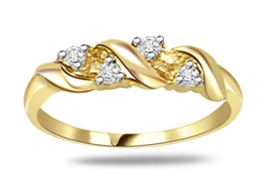 0.12ct VS/ I, J Clarity Diamond rings