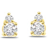 0.14 cts Diamond Earrings -Solitaire Earrings