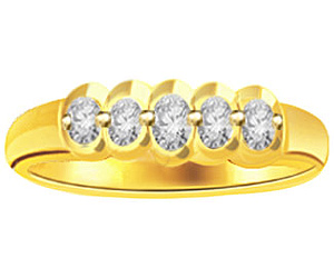 0.15 cts Diamond 18K rings -18k Engagement rings