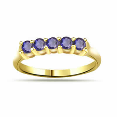 0.15ct Sapphire 18kt Gold rings SDR1197
