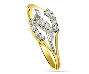 0.18 cts Designer Diamond rings