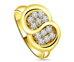 0.18ct Designer Diamond rings