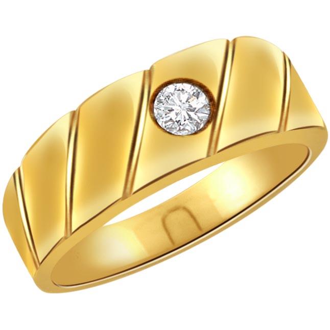 0.20 ct Diamond Men's Solitaire rings SDR353