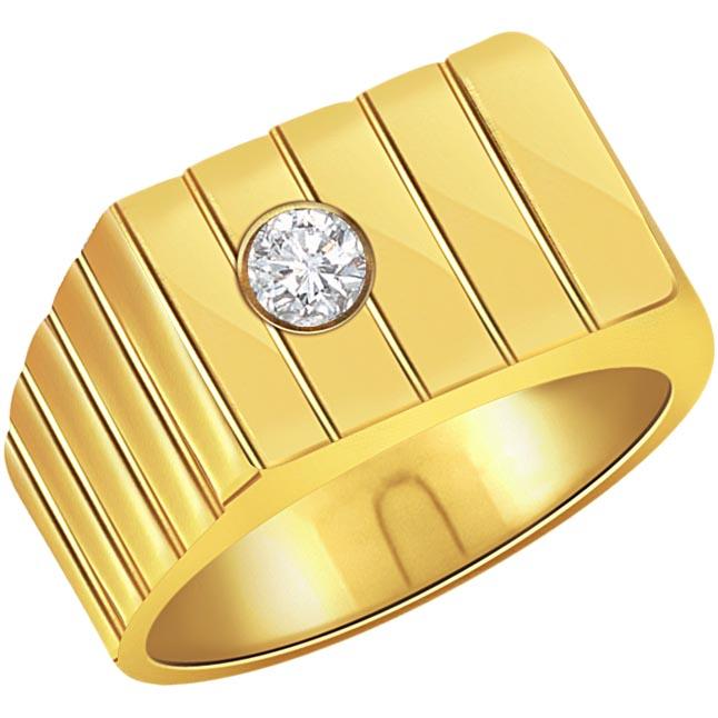 0.20 ct Diamond Men's Solitaire rings SDR355