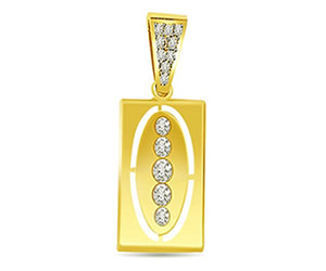 0.20 cts Diamond Pendants -Designer Pendants