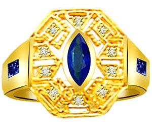0.20 cts Diamond & Sapphire rings