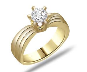0.20ct Diamond Solitaire 18kt rings SDR1228 -18k Engagement rings