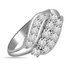 0.22 cts White Gold Diamond rings -Designer