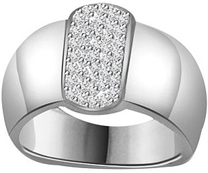 0.25 cts Wide B 14kt Gold Fancy Diamond rings -Designer
