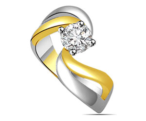 0.25cts Diamond 18k Engagement rings -18k Engagement rings