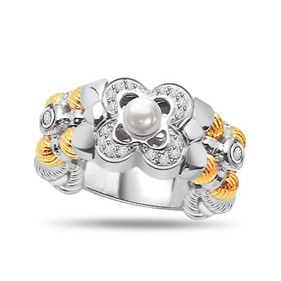 0.26ct Diamond Classic 18kt Gold rings