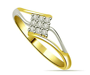 0.27 cts Designer Diamond rings