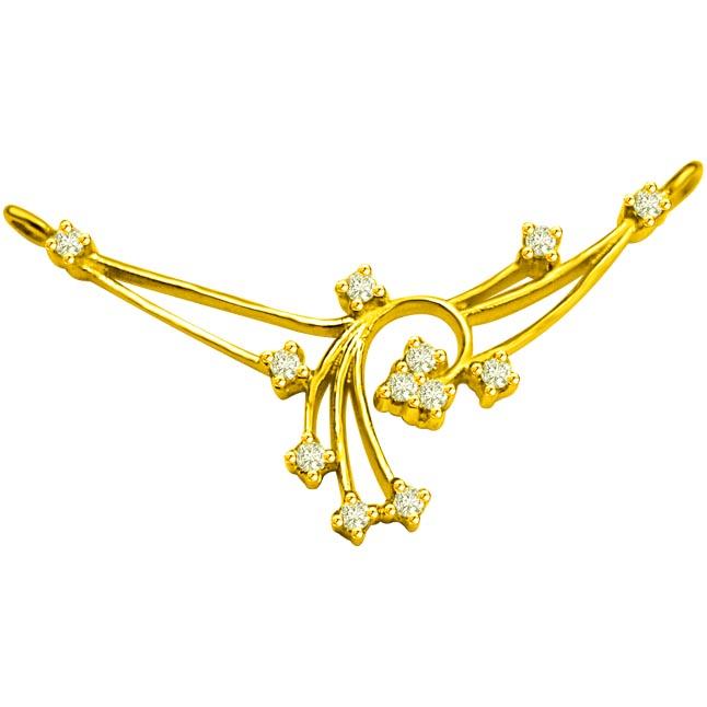 0.28 ct Diamond Necklace Pendants DN75 Necklaces