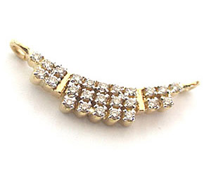 0.28 cts Beautiful Diamond Necklace Pendants DN9 Necklaces