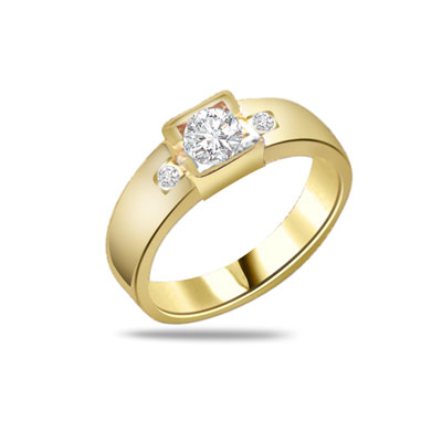 0.30ct Diamond 18kt Gold rings SDR1213