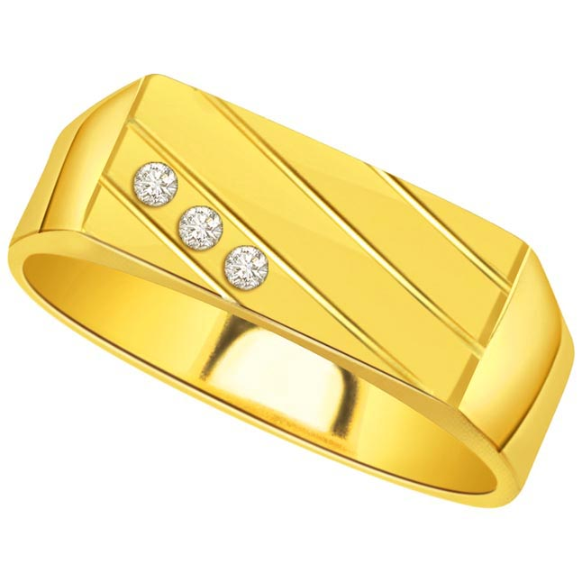 0.30cts Diamond Men's rings