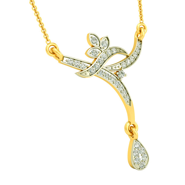 0.30cts Diamond Pendants Necklace DN434 -Diamond Necklace