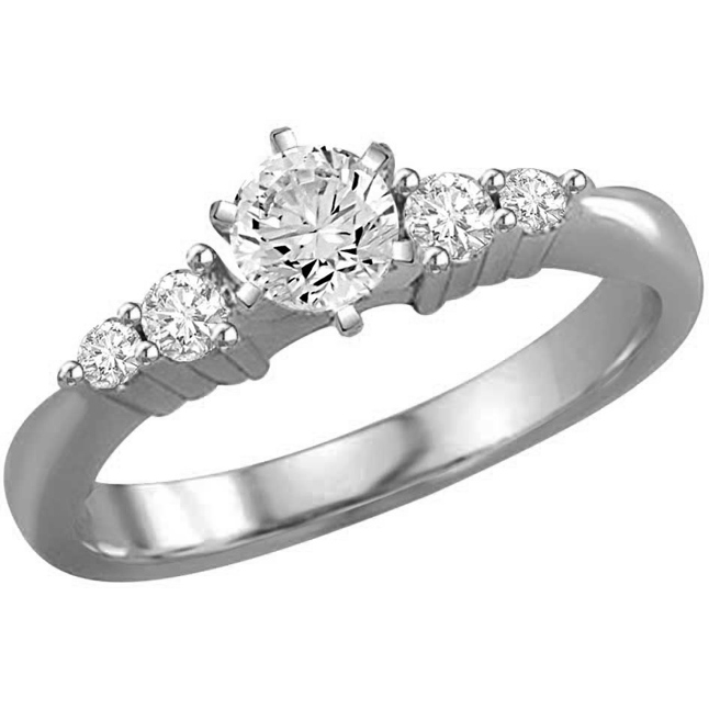 0.31TCW H/VS1 14k Gold Certified Diamond Bridal rings -Rs.40000 -Rs.100000
