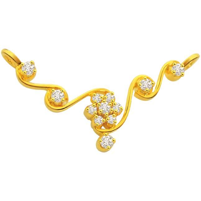 0.35 ct Diamond Necklace Pendants Necklaces