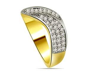 0.35 cts Designer Diamond rings