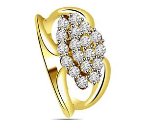 0.36 cts Designer Diamond rings