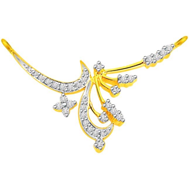 0.40 ct Diamond Necklace Pendants Necklaces