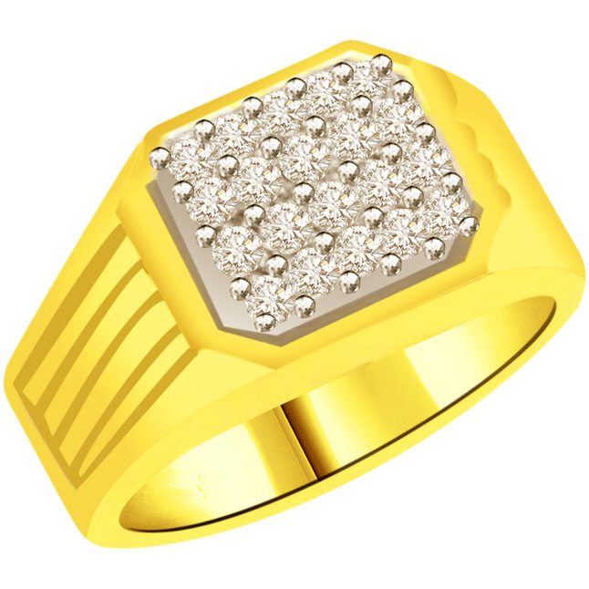 0.40cts Designer Diamond Men's rings