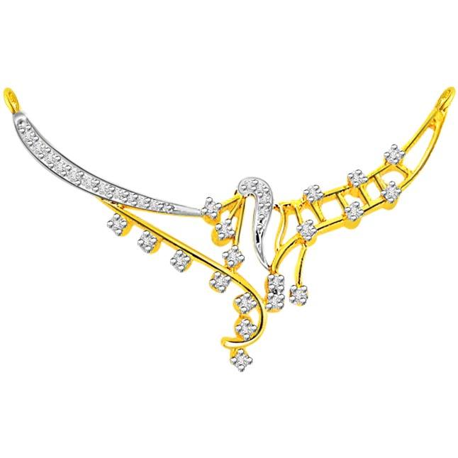 0.43 ct Diamond Necklace Pendants dn89 Necklaces