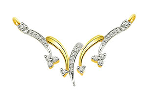 0.45 ct Diamond Necklace Pendants DN91