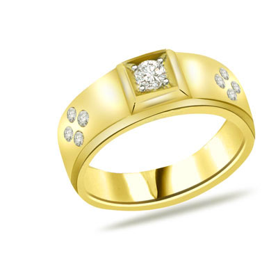 0.45ct Diamond 18kt Yellow Gold rings SDR1231