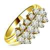 0.48 cts Diamond Yellow Gold Eternity rings