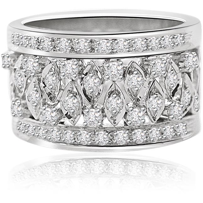beautiful gregg carats suedepa band karat white has design gold unique best pretty rings with of total milgrain images this on round ruth a pinterest bands diamond flower set finish diamonds ring wide brilliant