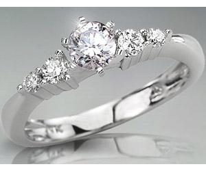 0.66TCW N/VS1 14k Gold Certified Diamond Bridal rings -Rs.40000 -Rs.100000