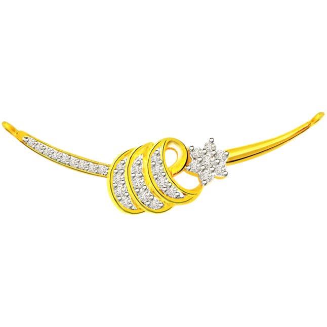 0.74 ct Diamond Necklace Pendants DN80