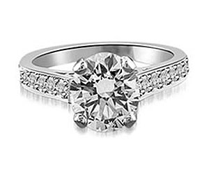 0.74TCW F /SI2 GIA Certified Sol Diamond Engagement rings -Rs.150001 -Rs.200000