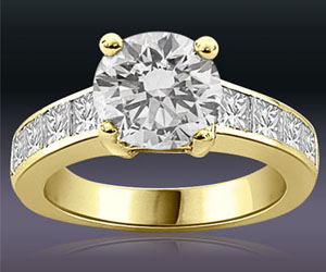0.90TCW GIA Cert I/SI1 Cert Sol Diamond Engagement rings -Rs.200001 -Rs.300000