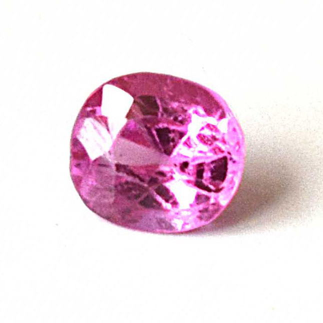 0.42cts Real Natural Oval AAA Faceted Red Ruby Gemstone for Astrological Purpose (0.42cts Oval Ruby)