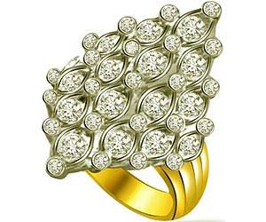 1.00 cts Designer Diamond rings