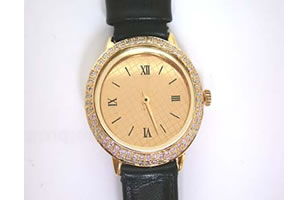 Buy 1.00 Cts Men's Diamond Watch Online