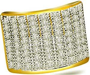 1.00 cts Wide B Diamond rings