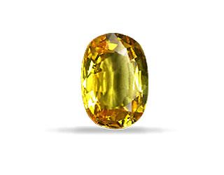1.00ct AA Grade Loose Yellow Sapphire Stone -Yellow Sapphire (Pukhraj)