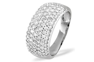 1.00ct Diamond Pave Setting rings -Pave Collection