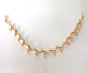 1.06 cts Elegant Design Diamond Necklace Pendants -Diamond Necklace