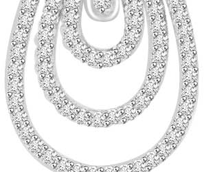 1.11 cts Designer Diamond Pendants -Designer Pendants