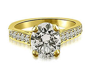 1.14TCW E/VS1 GIA Certified Sol Diamond Engagement rings -Rs.600001 & Above