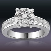 1.20TCW GIA Cert H /VS1 Cert Sol Diamond Engagement rings -Rs.600001 & Above